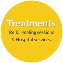 Treatments offered by Norma Jean Young. Reki healing sessions and hospital services.