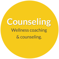 Wellness coaching and counseling with Norma Jean Young.